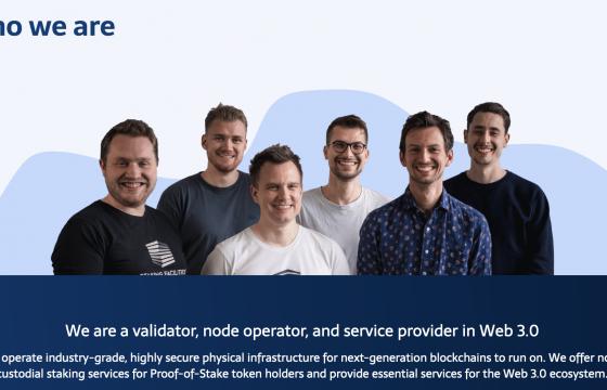 Interview Staking Facilities – enterprise-grade web 3.0 infrastructure & services – Robert Dörzbach