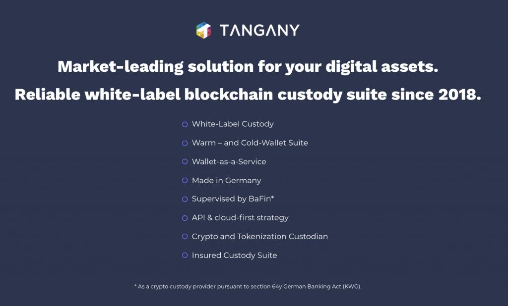 Tangany GmbH Digital Custodian