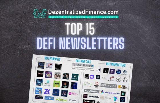 TOP 15 DeFi Newsletters