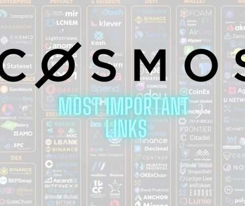 Cosmos Network most important links