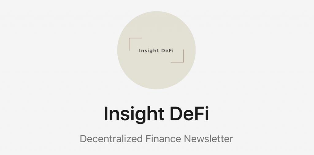 InsightDeFI Newsletter Pascal Hügli