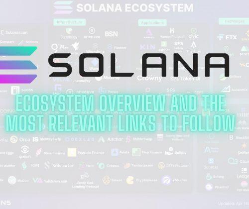 Solana Ecosystem Overview