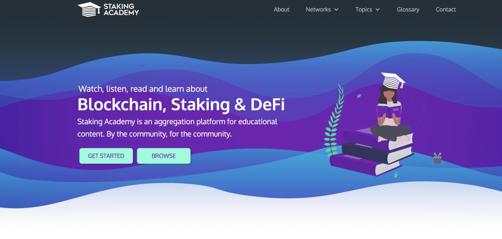 Staking-Academy.com new website