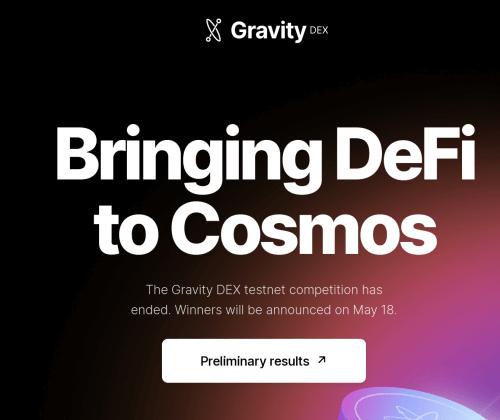 Gravity DEX – Bringing DeFi to Cosmos