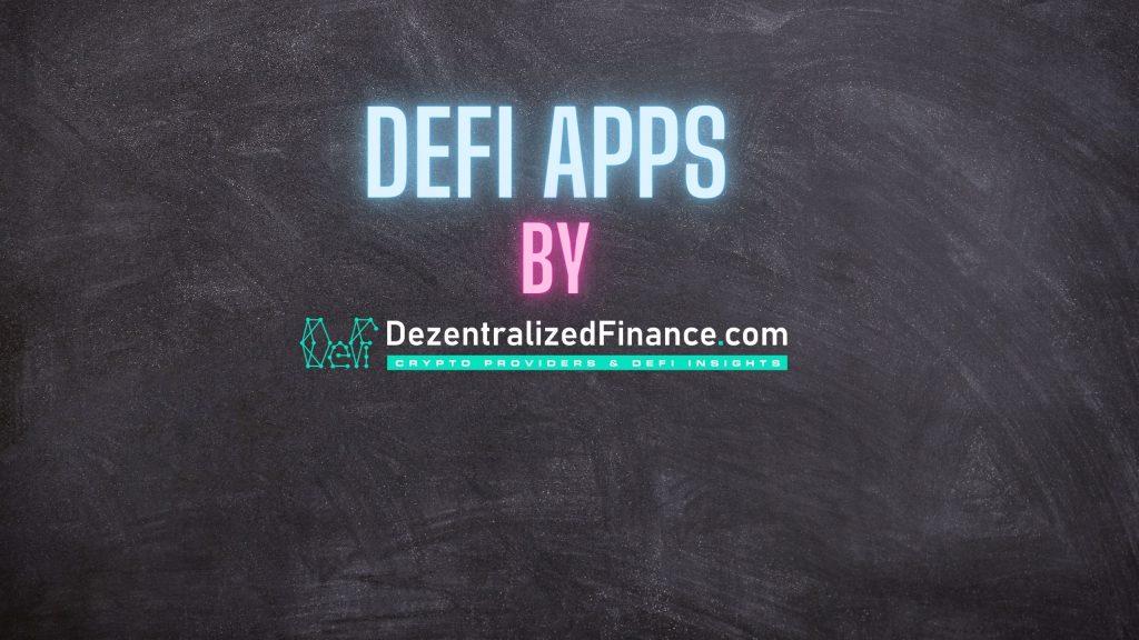 DeFi Apps by DezentralizedFinance.com