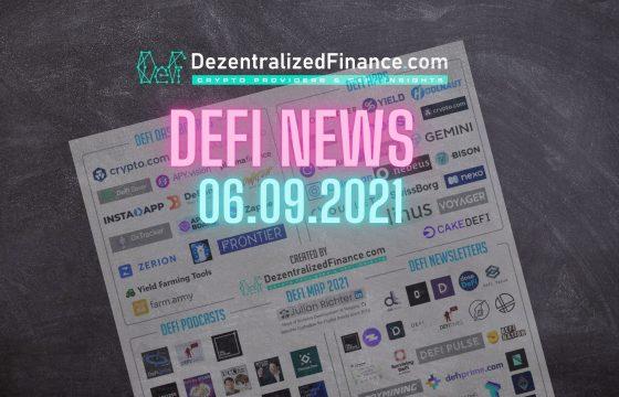 DeFi News 06.09.2021