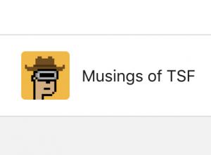 Musings of TGF
