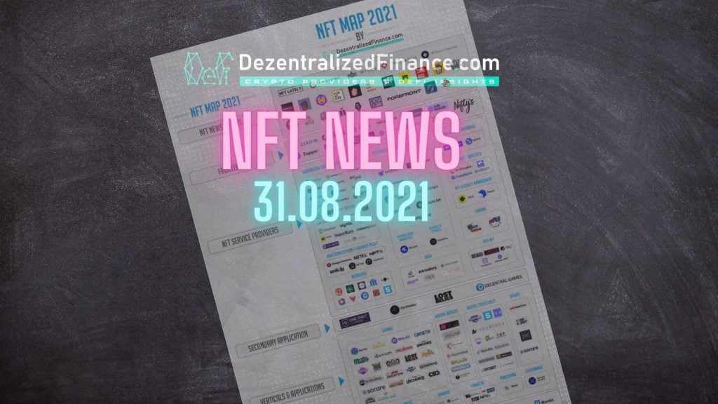 NFT News 31.08.2021