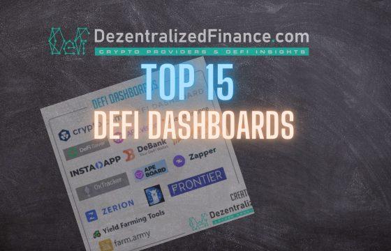 Top 15 DeFi Dashboards