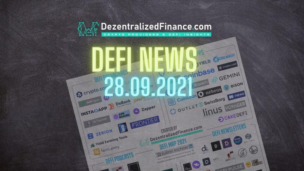 DeFi News 28.09.2021
