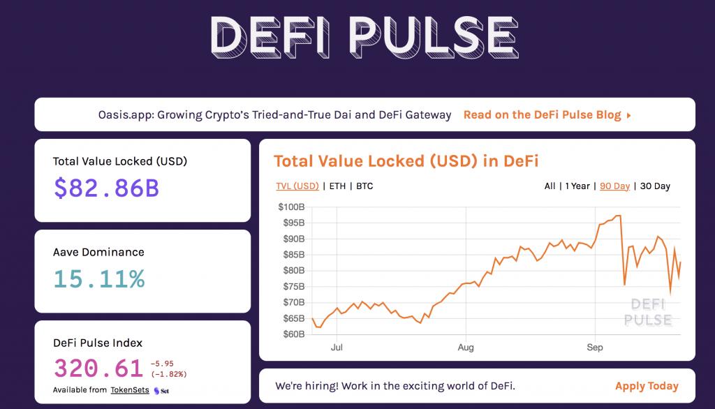 DefiPulse 21.09.2021