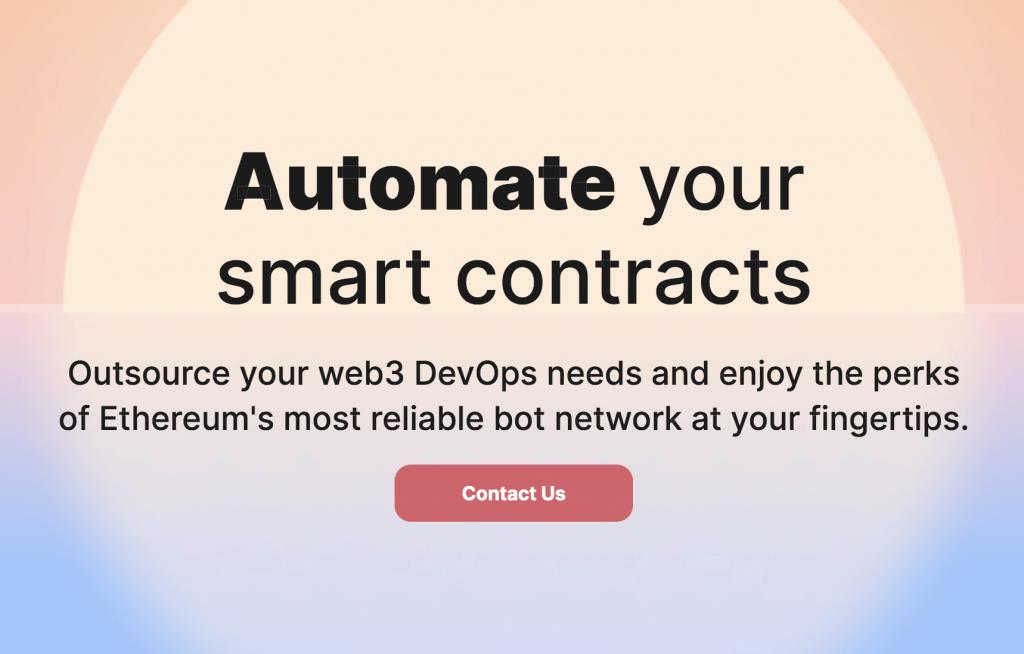 Gelato Network Automate Smart Contracts