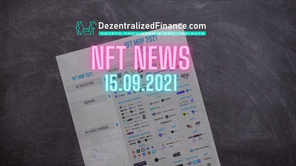 NFT News 15.09.2021