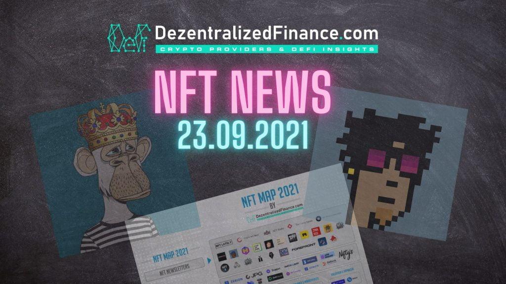 NFT News 23.09.2021