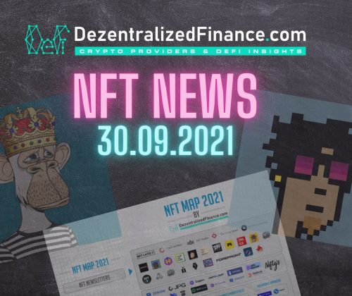 NFT News 30.09.2021