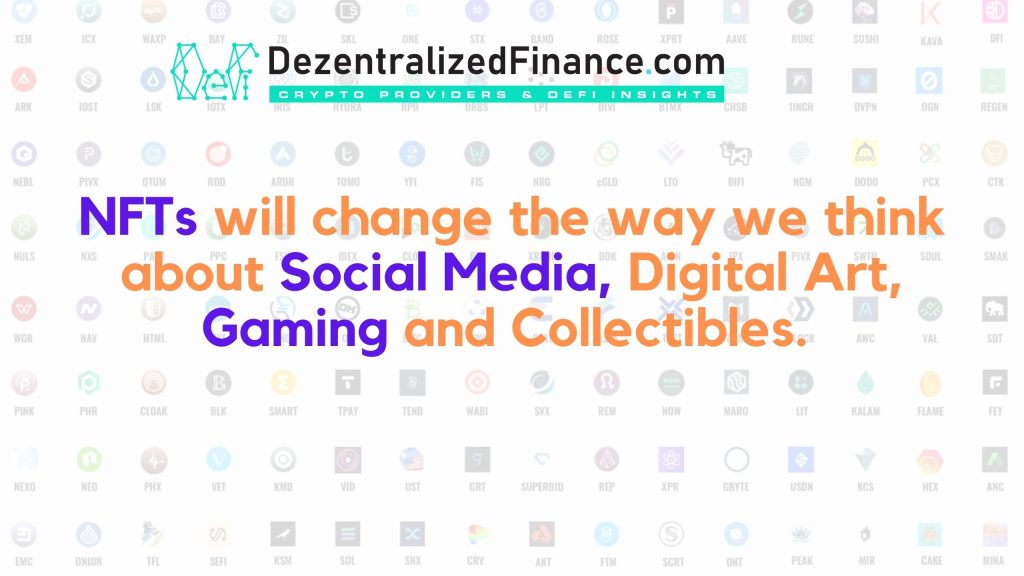 NFTs will change Gaming