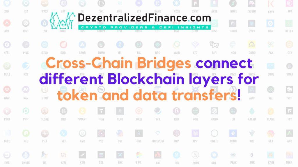 Cross Chain Bridges - Text