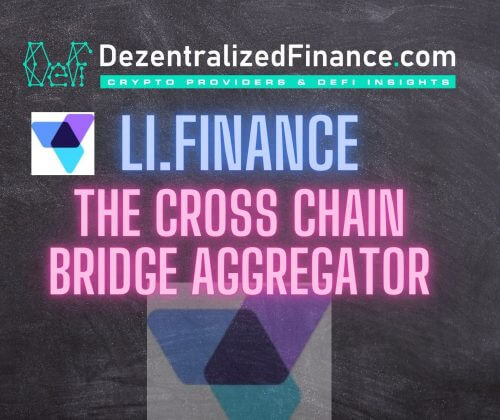 Li.Finance | The Cross Chain Bridge Aggregator
