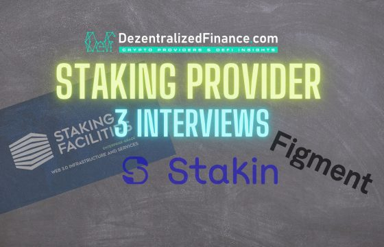 Staking Providers | 3 Interviews