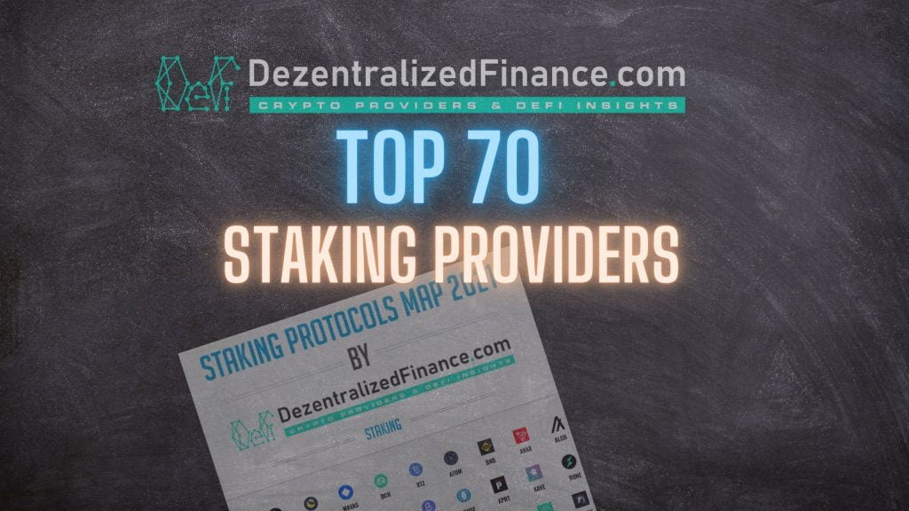 Top 70 Staking Providers